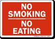 No Smoking No Eating