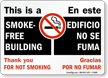 This Is A Smoke-Free Building Sign
