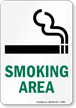 Smoking Area - vertical