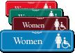 Women ADA Sign