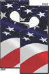 American Flag Door Hang Tag