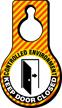 Controlled Environment Keep Door Closed Hang Tag