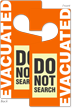 Two Sided Evacuated Do Not Search Glow Hang Tag