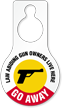 Law Abiding Gun Owners Humorous Hang Tag