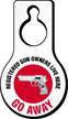 Registered Gun Owners Live Humorous Hang Tag