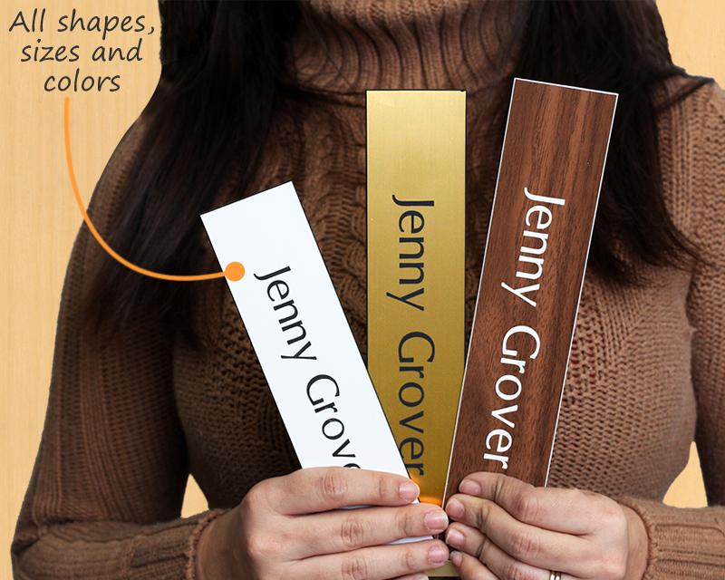 door name plates – customize your office door signs