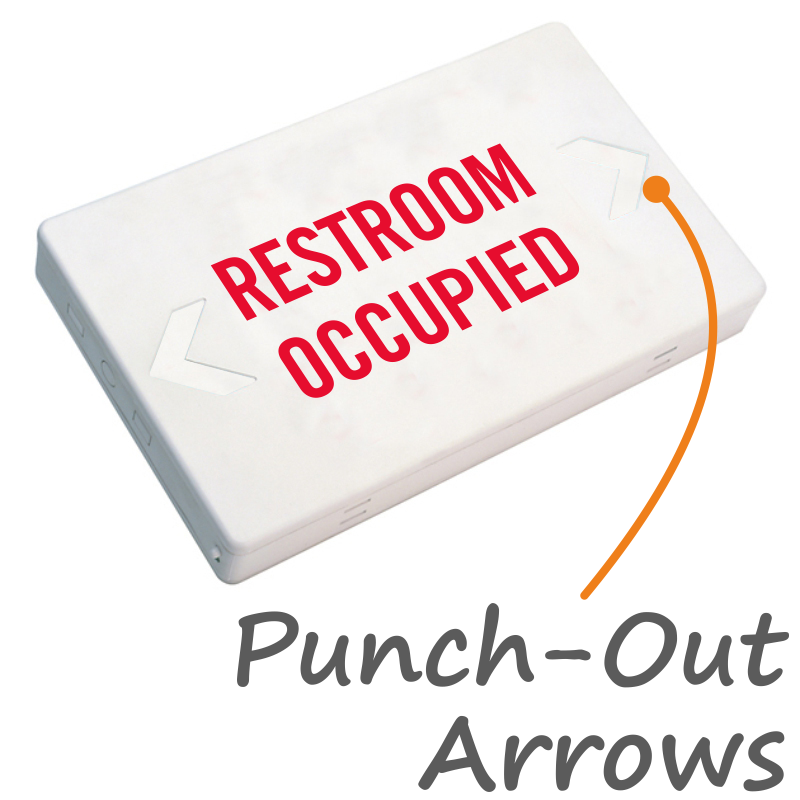 Bathroom Occupied Signs