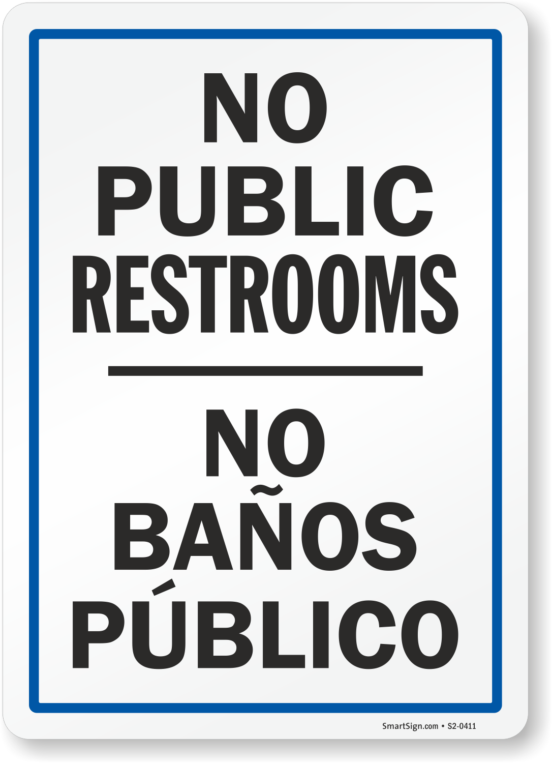 Adaptable image within no public restroom sign printable