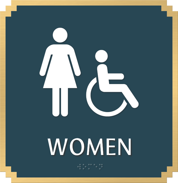 zoom price buy - Handicap Bathroom Signs