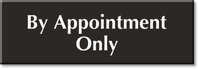 appointment signs appointment only signs