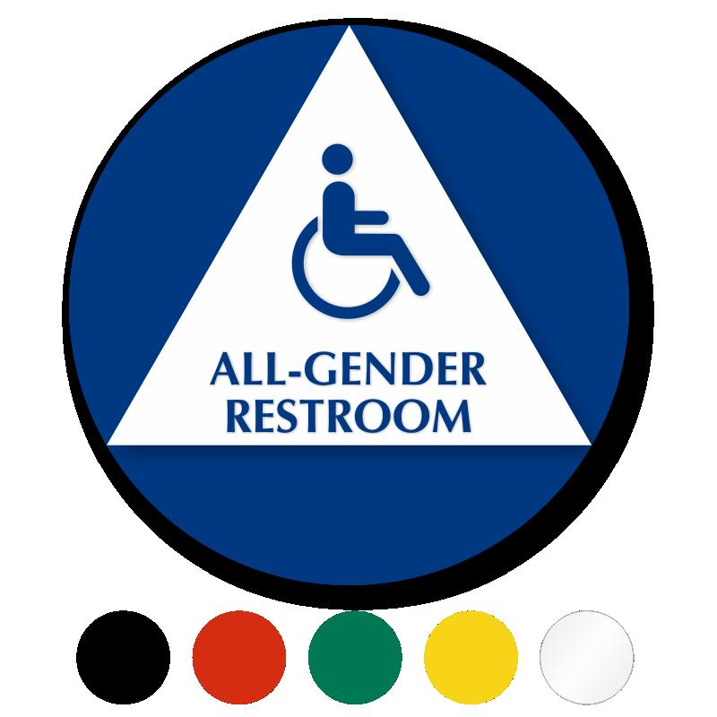 All-Gender Restroom Signs   Transgender Restroom Signs