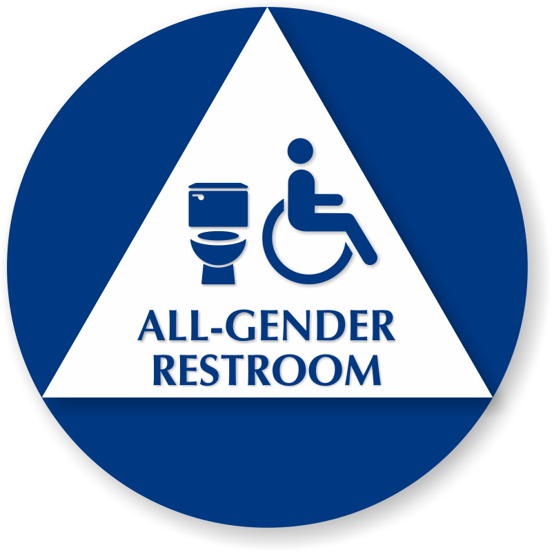 california all gender restroom sign with handicap symbol round california all gender restroom sign toilet