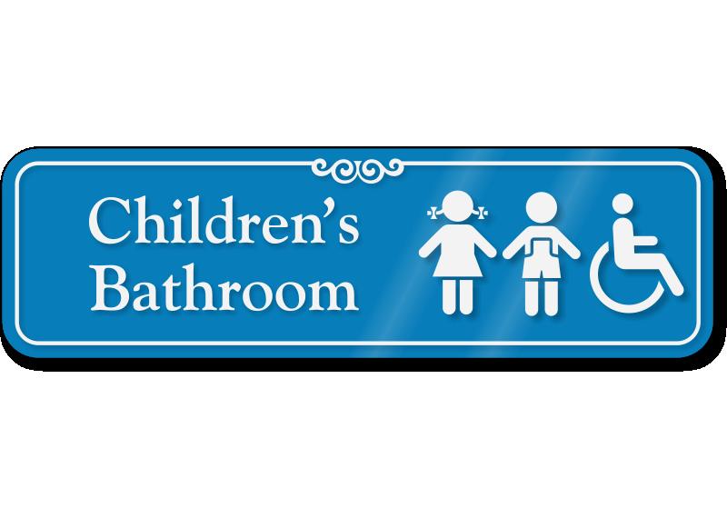 Boy And Girl Bathroom Signs My Web Value