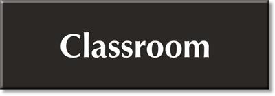 School Room Signs, Classroom Signs & Braille Door Signs