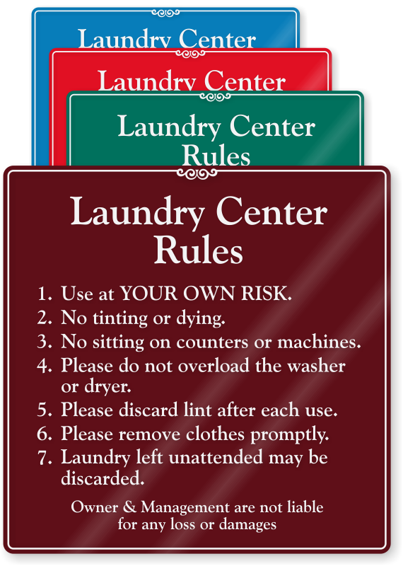 Graphics For Laundromat Signs Or