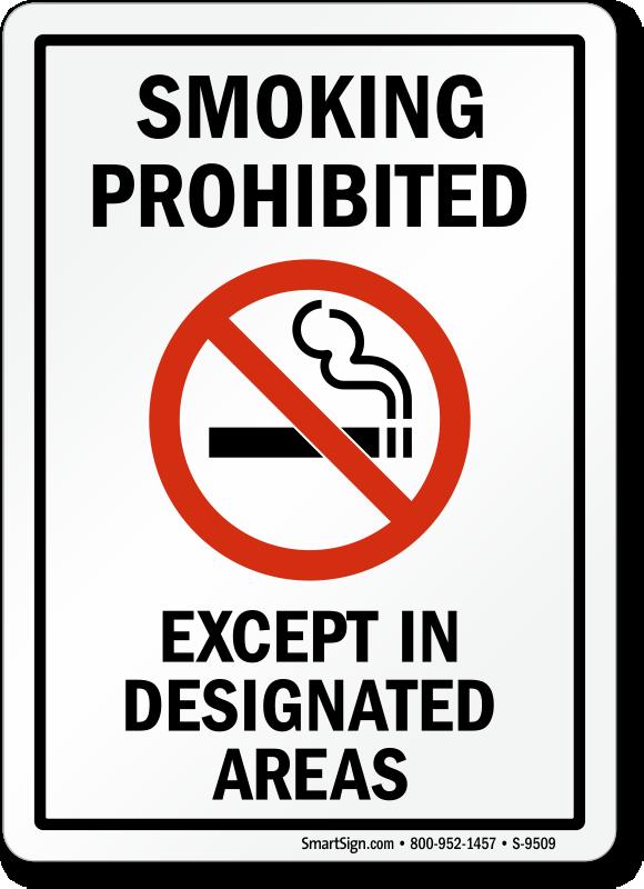 no smoking sign  sku  s