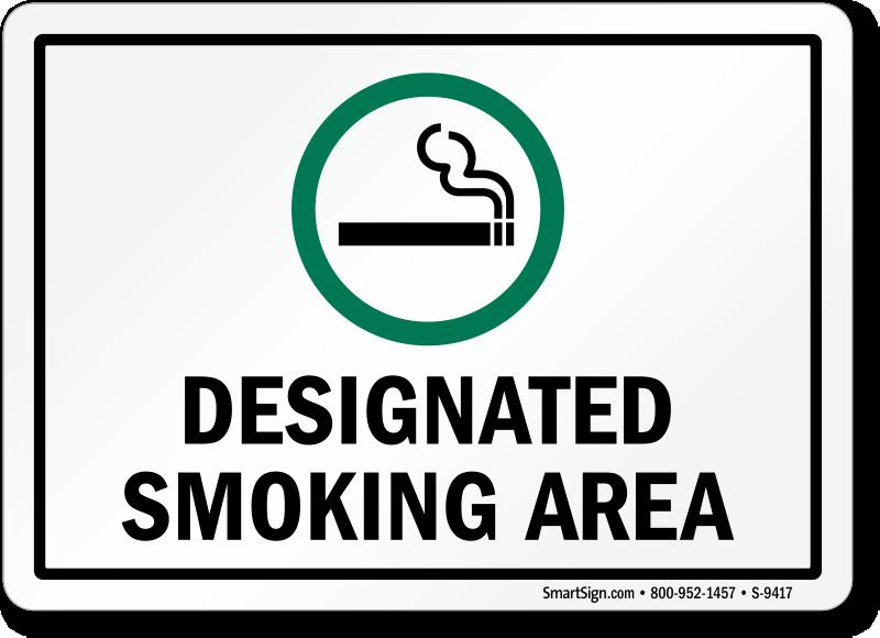 California No Smoking Signs - No Smoking Signs by State