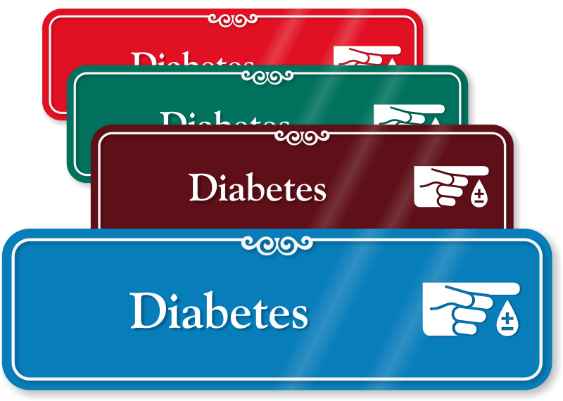 Image result for DIABETES SIGN