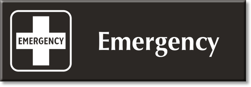 Emergency Signs Emergency Door Signs