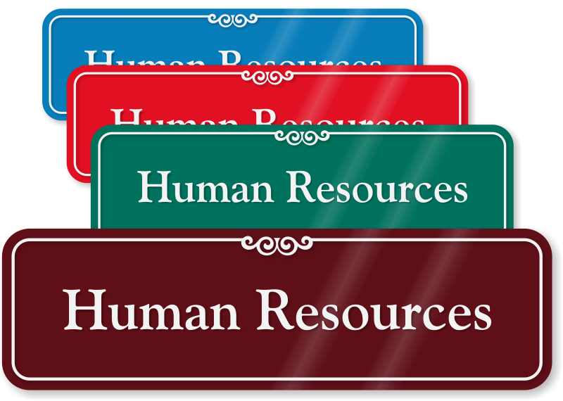 Human Resources Signs Go Stop Human Resource Hr Slider Signs