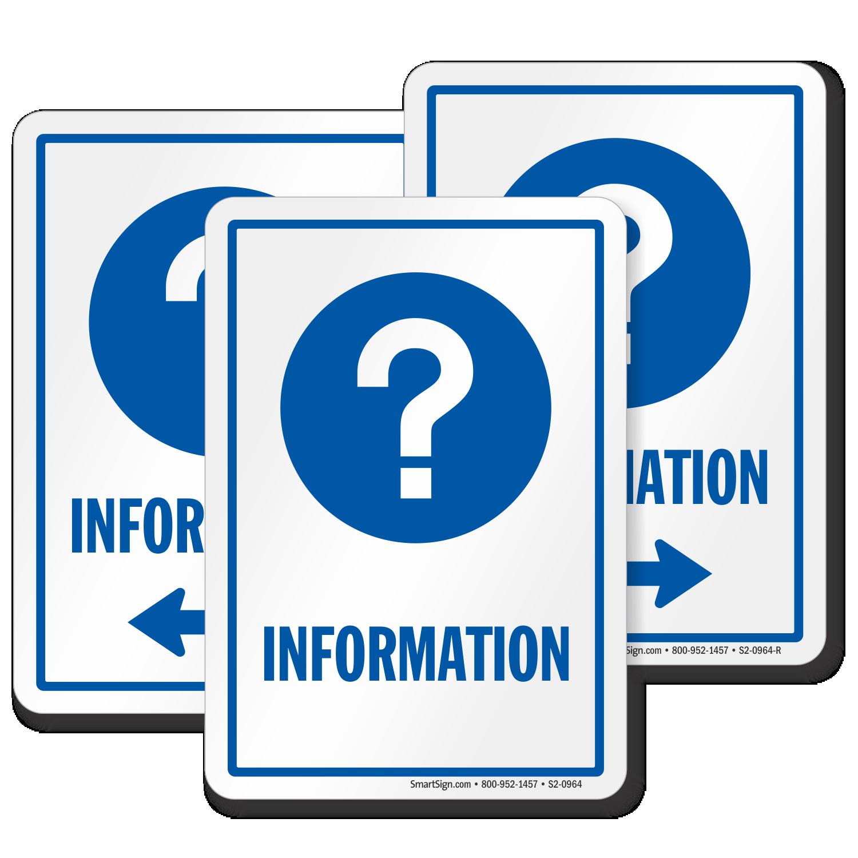Information Signs | Information Door Signs