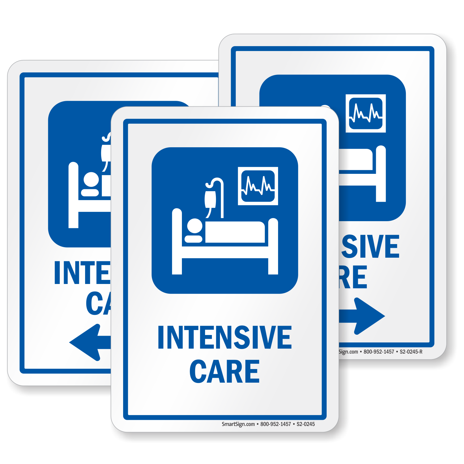 Intensive Care Hospital Icu Sign Patient On Drip Icu