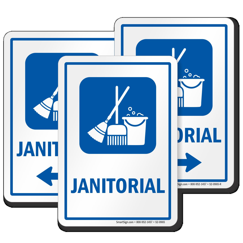 Janitorial Sign Maintenance Equipment Symbol Sku S2 0965