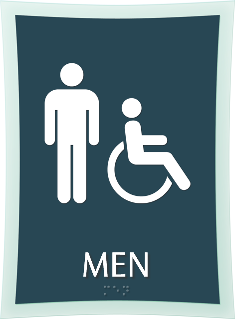 Bathroom Signs Commercial men s restroom sign clipart - bathrooms cabinets