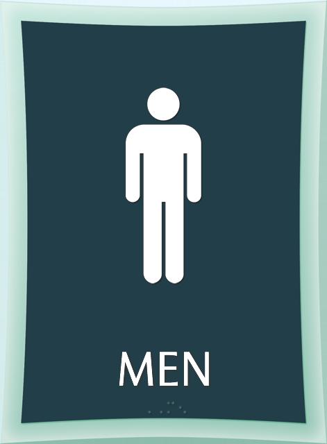 Mens Restroom Signs Mens Bathroom Signs
