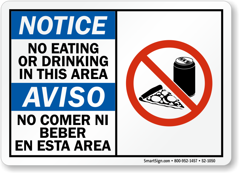 No Eating Or Drinking In Church