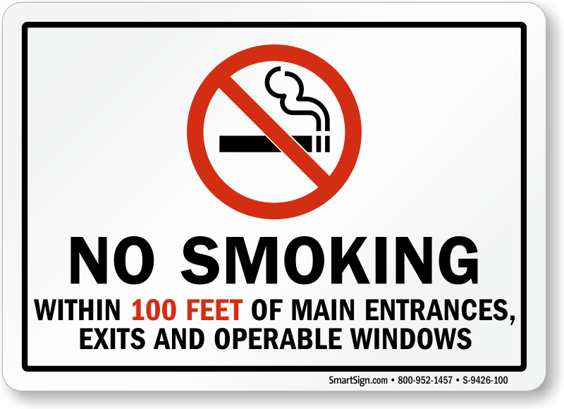 Ny State Law Cigarette Smoking Near Public Buildings