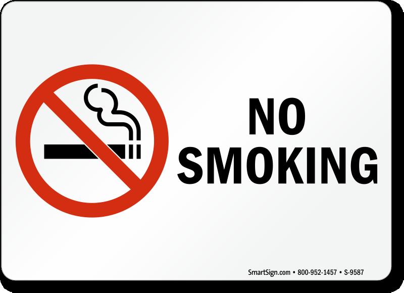 No Smoking Stickers | No Smoking Labels