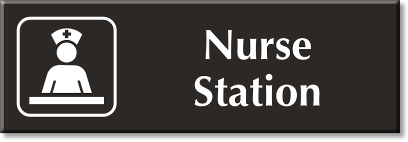 Nurse Station Signs Nurse Station Door Signs