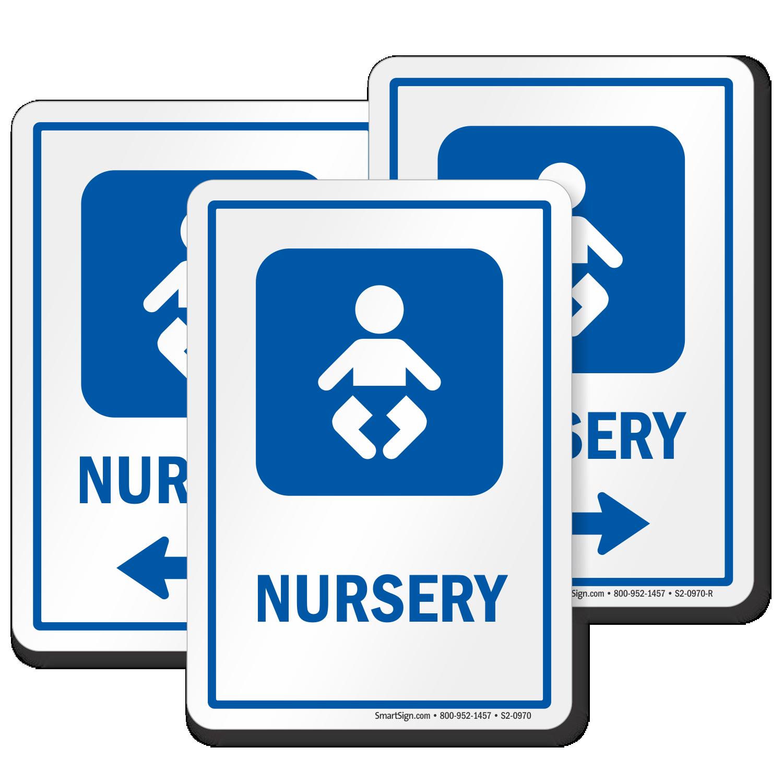 Nursery Sign Baby Symbol Durable And Long Lasting Sku
