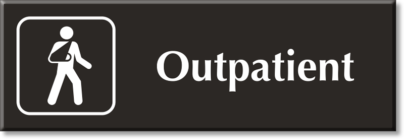 Outpatient Signs on Number Lines