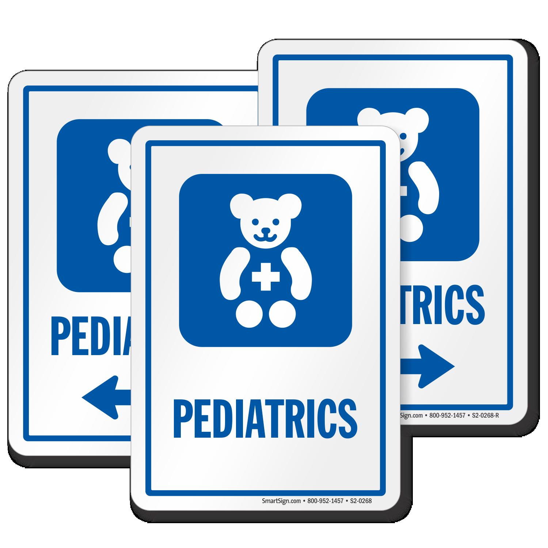 Pediatrics Signs | Pediatrics Door Signs