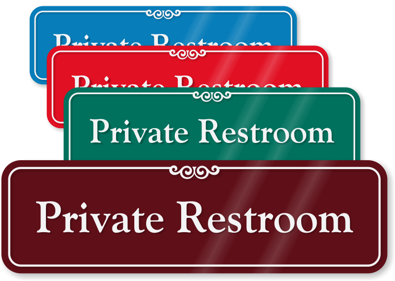 Private Room Signs No Soliciting Amp Slider Signs For Privacy