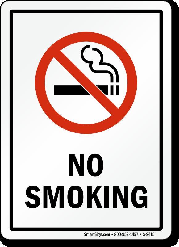 No Smoking Signs | No Smoking Stickers