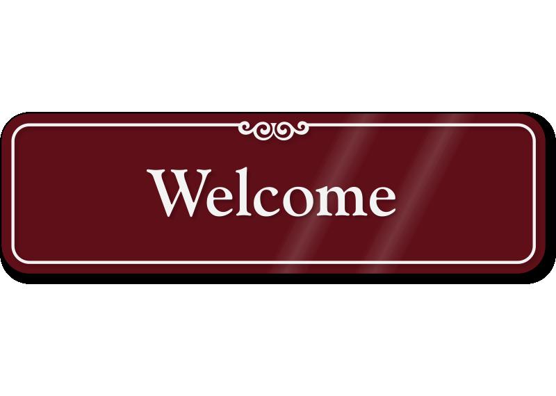 Image Gallery welcomesign