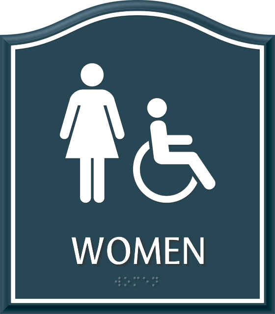 Santera Bathroom Signs. Santera Bathroom Regulatory Signs