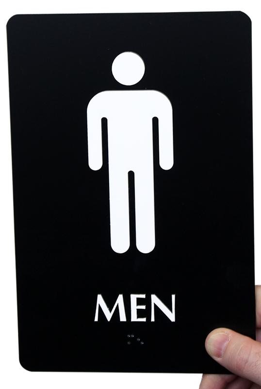 Men Male Pictogram Signs
