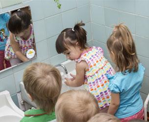 Handwashing Sticker for Kids