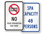 Customizable Traffic Safety Sign Templates