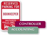 Accounting Signs