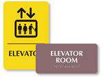 ADA Elevator Signs