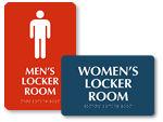 ADA Locker Room Signs