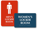 ADA Locker Room Signs