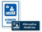 Alternative Medicine Signs