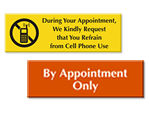 Appointment Signs