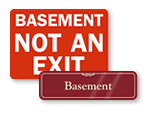 Basement Signs